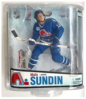 "Mats Sundin Quebec Nordiques NHL McFarlane Ice Hockey 6"" Action Figure"