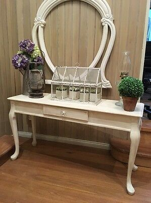 French Provincial Vintage Rustic Queen Anne Hall Stand