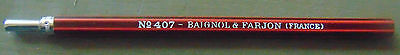 Ancien Porte Plume/crayon? Baignol&farjon N°407/ Ancient Penholder French