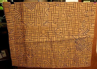Antique Kuba Cloth - BUSHOONG – DR Congo