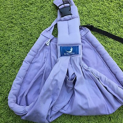 Baba sling in lilac colour with storage bag