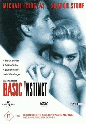 Basic Instinct - Michael Douglas, Sharon Stone DVD R4 New! *