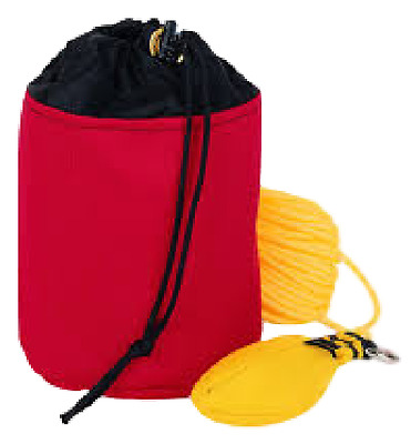 Weaver Leather Throw Line Storage Bag, Small Red BAG ONLY