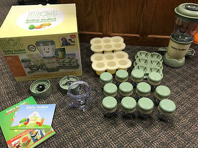 Magic Bullet Baby Bullet Food Making System 20 Piece Storage
