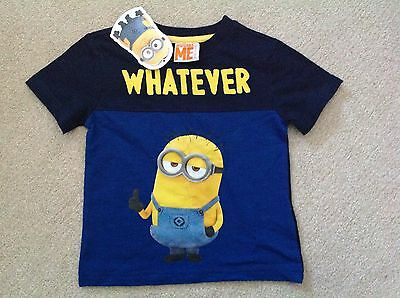 BNWT DESPICABLE ME MINION T SHIRT, Age 3-4 Years