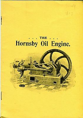 Hornsby Oil Engine Catalogue H702 (1904),  reprint