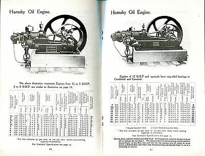 Hornsby Oil Engines Catalogue No. S.130 (c. 1913),   reprint
