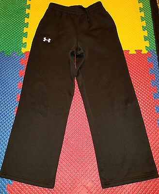 Boys Black Under Armour Athletic Pants Size  Youth Large