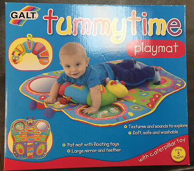 GALT Tummy Time Playmat with Caterpillar Toy Baby Infant Child Children Toys