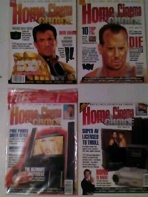 HOME CINEMA MAGAZINES x 34 ISSUES LOT