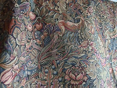 vintage woven tapestry style throw table cover or cushion covers