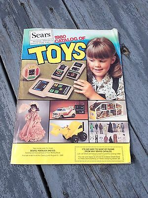 1980 Sears Toy Catalog Star Wars Rc Disney Horse Music Erector Weebles Tonka ++