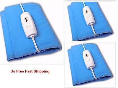 Electric King Size Heating Heat Pad Arthritis Joint Back Pain Arm Pain Relief