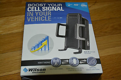 New Wilson weBoost Drive 4G-S Car Cradle Cell Phone Signal Booster Kit 460107