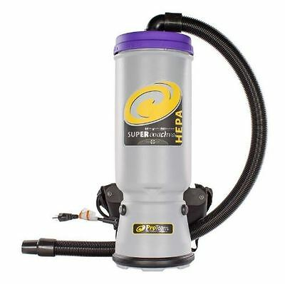 New ProTeam 107119 Super Coach Hepa Backpack Vacuum with Telescoping wand kit