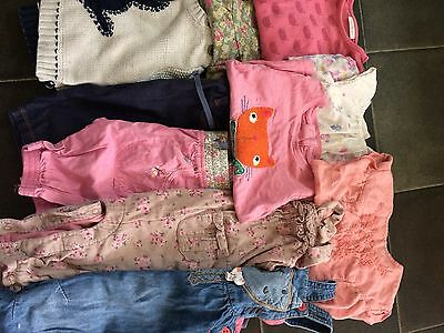 girls' bundle 6-9 months Next and Mothercare