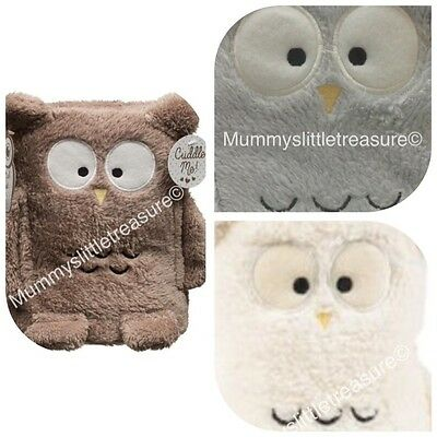 Baby Owl Blanket Wrap Choice Of Colours
