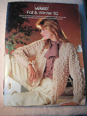 Vintage 1982 Montgomery Ward Fall & Winter Catalog