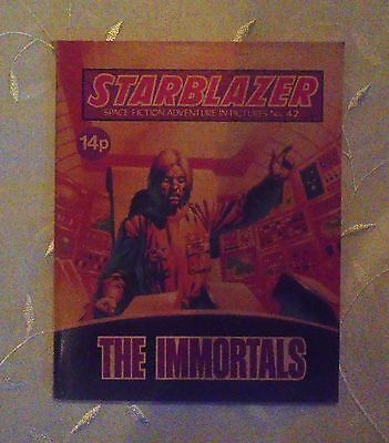Vintage Starblazer DC Thomson Comics no 42 The Immortals