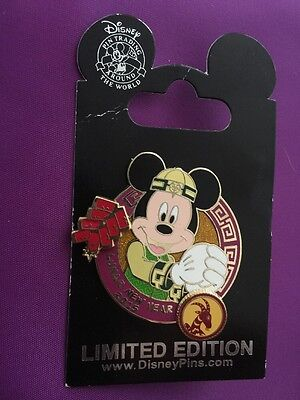 Disney ~ Mickey Mouse Lunar New Year 2015 Pin LE 3000