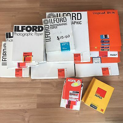 Assorted Photographic Paper
