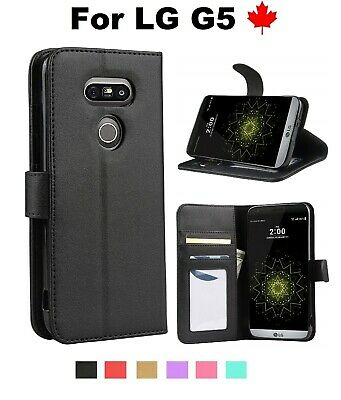 For LG G5 (LGH831) - Wallet Stand Leather Flip TPU Credit Card Slots Case Cover