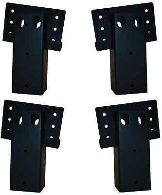 1000lbs Capacity 4x4 in. Double Angle Brackets (4-Set) Tree House Hunting Blind