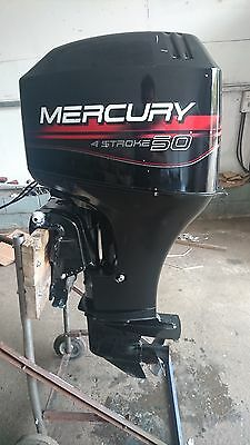 Mercury 50 hp 4 stroke electric start power trim remote outboard fully serviced