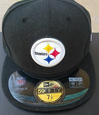 NWOT Pittsburgh Steelers New Era 59fifty On-Field  Hat Cap Size 7 1/8