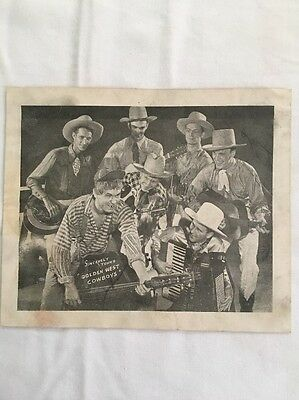Pee Wee King Sincerely Yours The Golden West Cowboys Photo Picture Photograph TN
