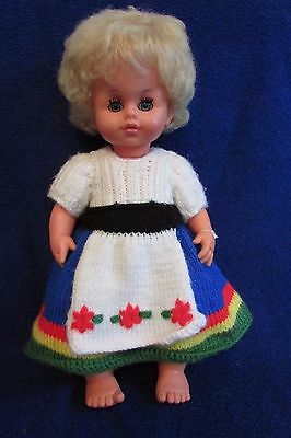 Vintage  M Zapf - Made in Germany Talking Doll