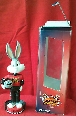NASCAR Looney TunesBugs Bunny Bobble Head Limited Edition Collectible