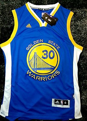 Rare  maillot NBA Stephen Curry Golden State Warriors + logo finale, taille M