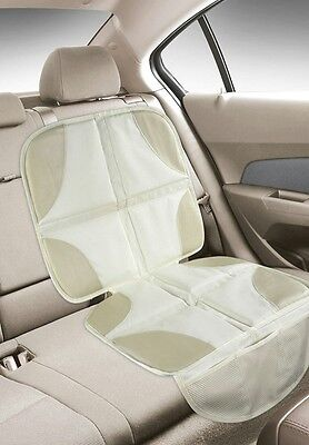 NEW Car Seat Protector Infant Cover Mat Baby Pad Waterproof Beige Tan Luxury
