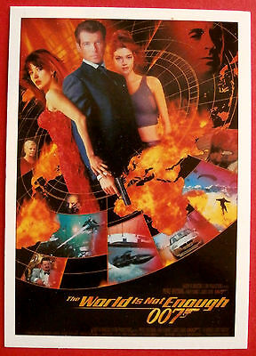 JAMES BOND,  The World Is Not Enough - COMPLETE 72 Card Base Set - Rittenhouse