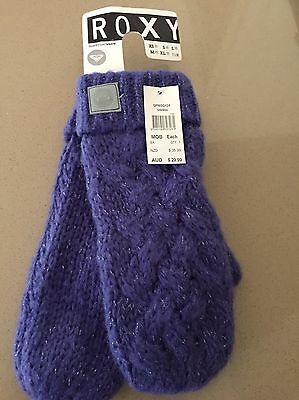 New ROXY Women's Mittens New With Tags