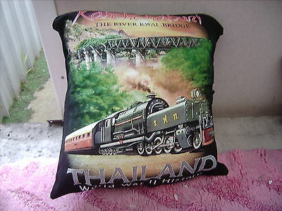 River Kwai Bridge Ww2   Australian    Cushion 16 Inch/ 40 Cm
