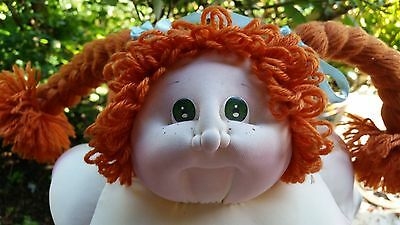 "Cabbage Patch Doll, 23"", Soft Sculpture, Signed, Little People  Edition #2"