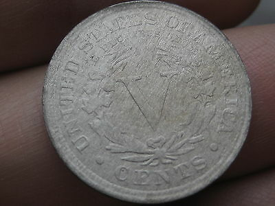 1883 Liberty Head V Nickel- WITH Cents, E PLURIBUS UNUM Clear!
