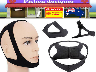 Hot Triangle Stop Snore Snoring Belt Chin Straps Sleep Support Solution Useful