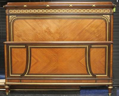 FRENCH EMPIRE INLAID BED, 19TH CENTURY Lot 6106
