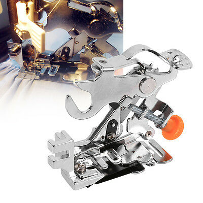 Home Sewing Machine Part Gathering Presser Foot for Singer Brother Janome Juki