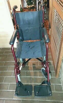 Wheel Chair Brand New Suit Small Framed Person  36Cm Across Inside Arm Rests