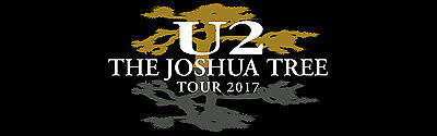 2 Concert Tickets U2 THE JOSHUA TREE TOUR 2017 AT&T Stadium May 26, 2017