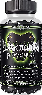 Black Mamba|Fat Burner Oxyshred Hydroxy Xtreme Clen Metabolism Thermo Lipo Shred