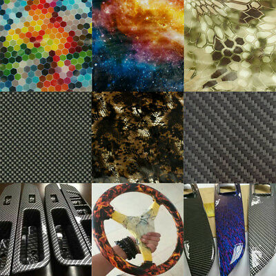 Various Carbon Fiber Print Water Transfer Printing Dipping Hydro Film