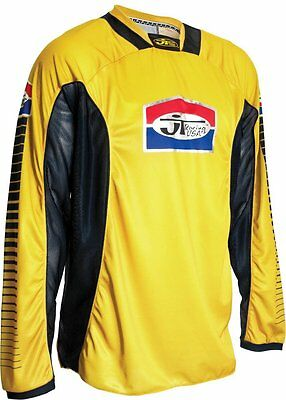 JT Racing USA Pro-Tour Jersey (Yellow/Black, X-large)