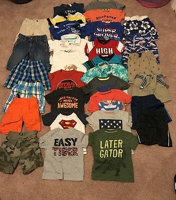 Lot Of Boys Summer Clothes-size 2t