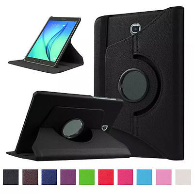 """360 Degree Leather Stand Case Cover Samsung Galaxy Tab S2 9.7"""" T810 T813 T815"""