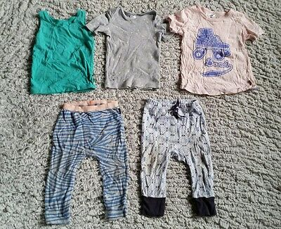 BONDS Pack Sz 1 Leggings, Pants, Tees and Singlet Used Condition 5 Items!